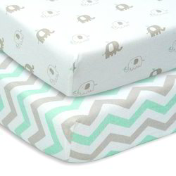 Organic Baby 300TC Fitted Sheet