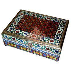 Meenakari Jewellery Box