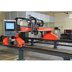 Manual CNC Plasma Bevel Cutting Machine