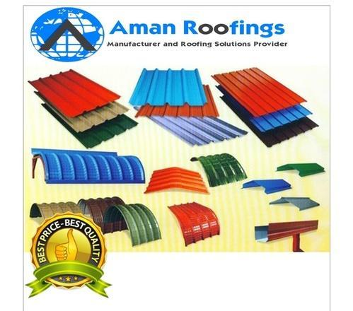 Curved Shade Service Corrugated Sheets Manufacturer From