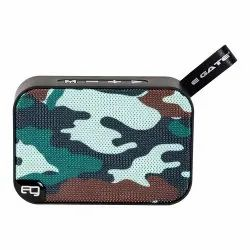 Egate Bond B303 Portable Bluetooth Speaker with Deep Bass and Mic (Army)