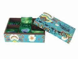 MDF Box Wooden Tea Box