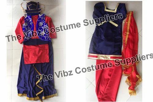d670b100dbe Folk Dance Costumes - Gidha Bhangra Dress Manufacturer from Jalandhar