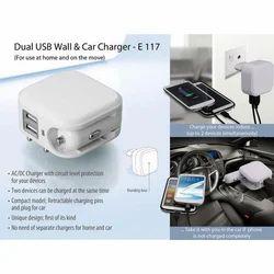 Dual USB Wall