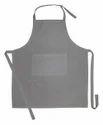 Plain Grey Kitchen Apron