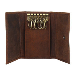 Leather Key Pouches
