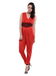 Red Jumpsuit (COT411A)
