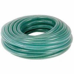 Green PVC Braided Pipe
