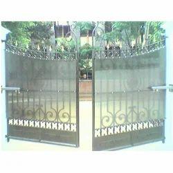 Swing Arm Motorized Gates