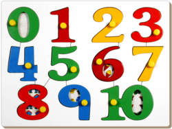 Number Picture Tray Board