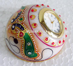 Marble Decorative Watch and Paper Weight