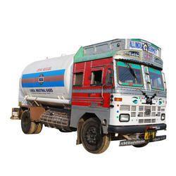 Liquid Nitrogen Tanker Filling Service