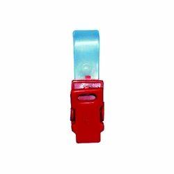 BC 5 Badge Plastic Clip
