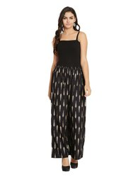 Regular Fit Women's Party Wear Rayol Fall Printed Palazzo Pants For Woman