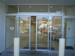 Automatic Sliding Sensor Glass Doors