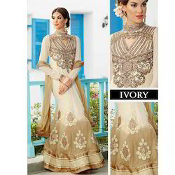 Designer Embroidery Dress Material