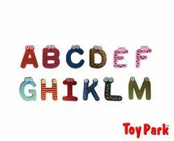 Magnetic Wooden Alphabets (ET 246)