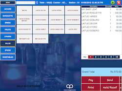 POS Software Restaurant Billing Software IT Technology Services - Restaurant table software
