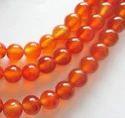 Carnelian Light Beads
