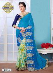 Chiffon Embroidery Saree