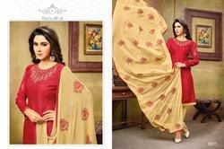 Full Sleeve Heavy Salwar Suit Fabric