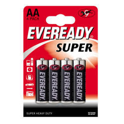 Eveready Super Heavy Duty AA Battery