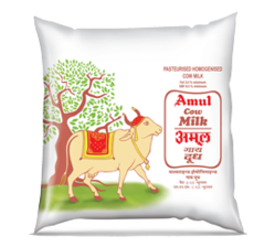 Amul Gold Milk And Amul Cow Milk Retailer Amul Parlour Vadodara