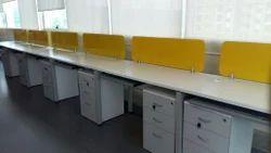 Desk back system