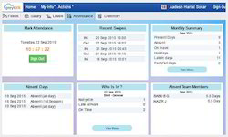 Online Attendance Marking Payroll Software