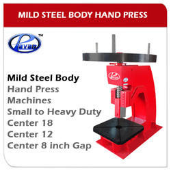 Hand Press Machine - MS Body
