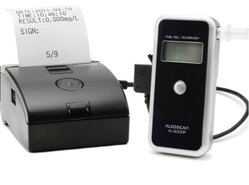 Fuel Cell Alcohol Detector With Printer