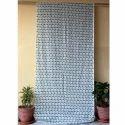 Hand Block Printed Curtain