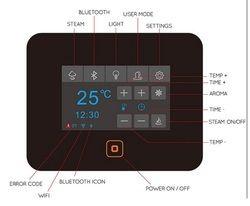 Steam Bath Digital Control Panel Model FS-80m