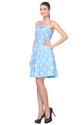 Flower Print Ladies Frock
