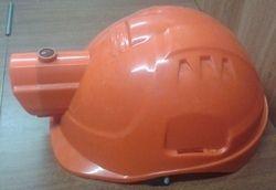Helmet with Head Lamp