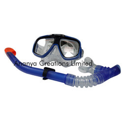 Swimming Mask and Snorkel Set