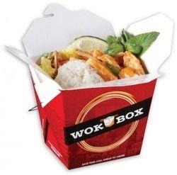 1000 ml Square Wok Box