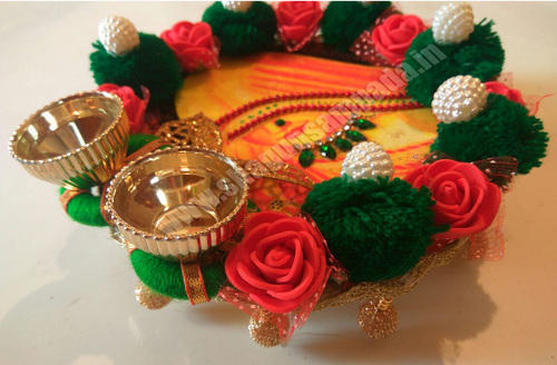 Wedding Return Gift, barati gift, roli kumkum tray