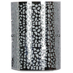 Jainsons Emporio Laser Cut Pattern Silver Wall Light