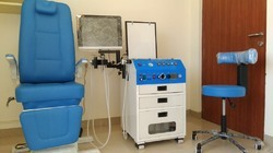 ENT OPD Unit with Patient Chair and Doctor Stool