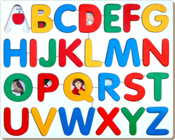 Alphabet Picture Tray