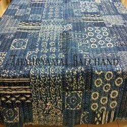 Indigo Cotton Bed Covers