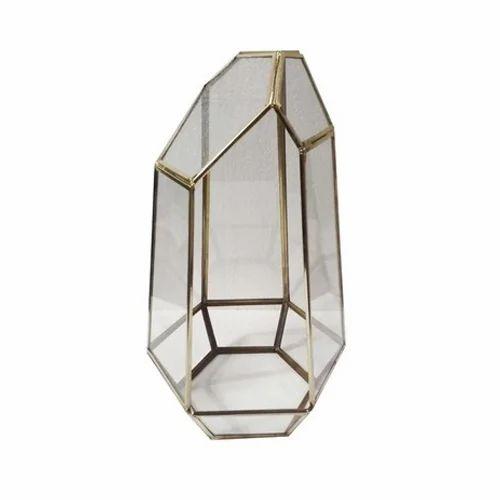 9da39d5949ba7 Decorative Terrariums - Hexagonal Terrariums Manufacturer from Moradabad