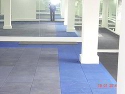 Interior And Exterior Rubberized Flooring