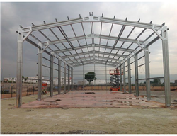Galvanized Steel Structures Service