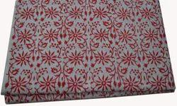 Indian Hand Block Printed Cotton Fabric Jaipuri  Floral Print