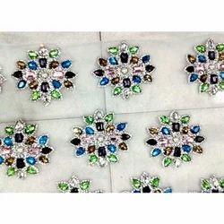 Embroidery Stone Boota Work