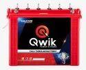 Qwik Tall Tubular Inverter Battery Qm12000 (100ah), Warranty: 60 Months