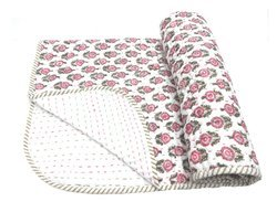 Hand Block Print Kantha Quilts & Bedcovers