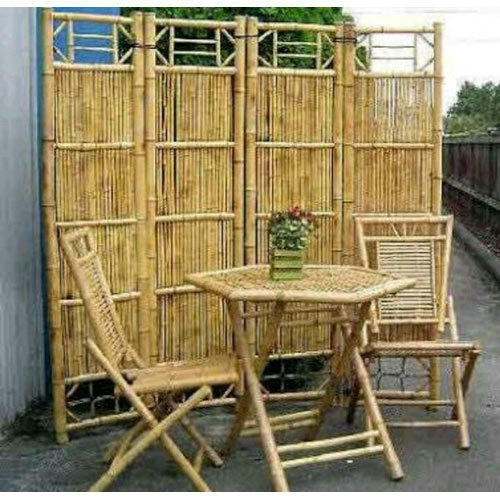 Bamboo Table and Chair Set & Bamboo Table and Chair Set - Manufacturer from New Delhi